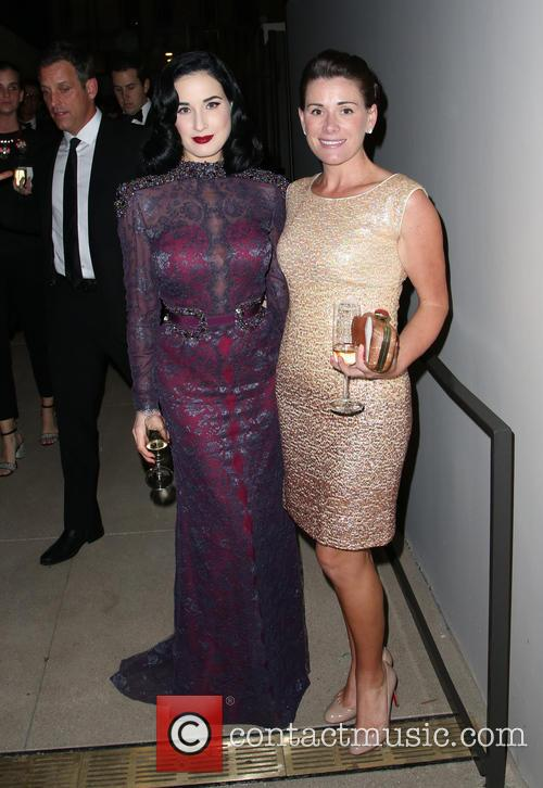 Dita Von Teese and Sarah Brown 2