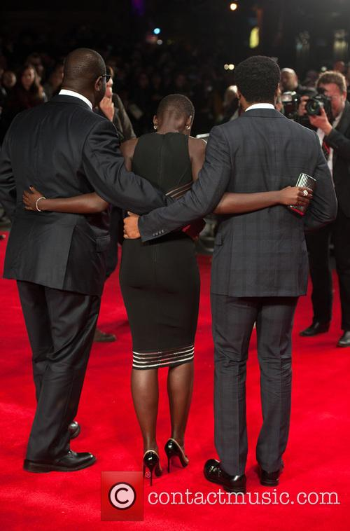 Steve Mcqueen, Lupita Nyong'o and Chiwetel Ejiofor 7