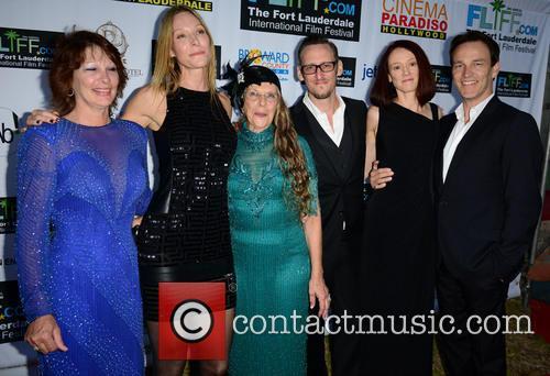 Stephen Moyer, Guest, Shana Betz and Fort Lauderdale
