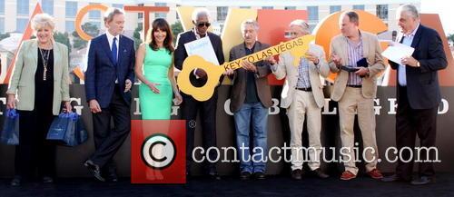 Mayor Carolin Goodman, Kevin Kline, Mary Steenbergen, Morgan Freeman, Michael Douglas and Robert De Niro 1
