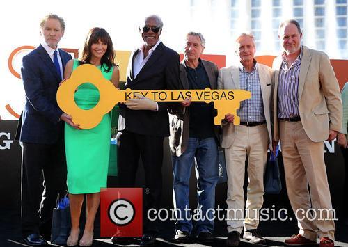 Kevin Kline, Mary Steenburgen, Morgan Freeman, Robert De Niro, Michael Douglas and Jon Turteltaub