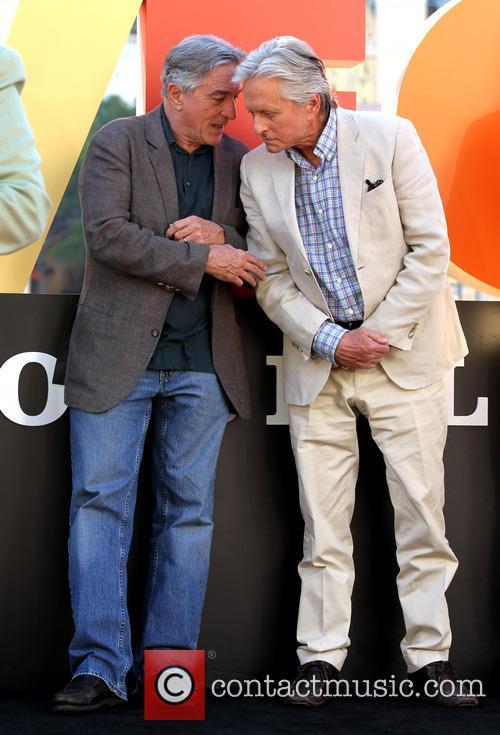 Robert De Niro and Michael Douglas 3