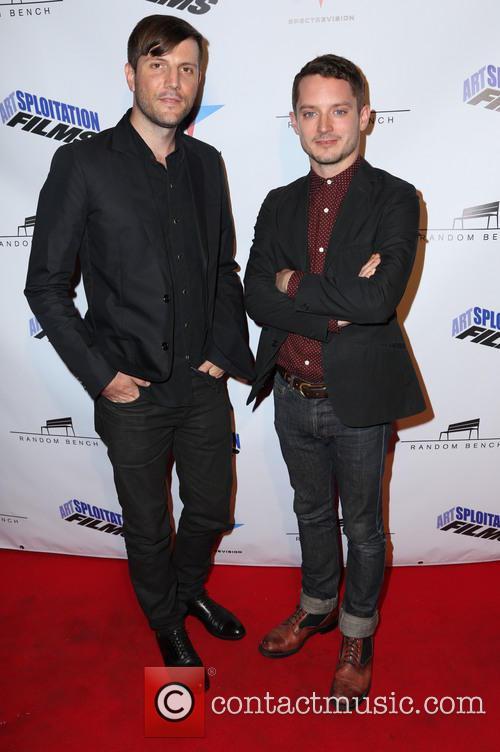 Jason Banker and Elijah Wood