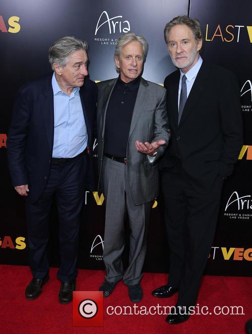 Robert De Niro, Michael Douglas and Kevin Kline