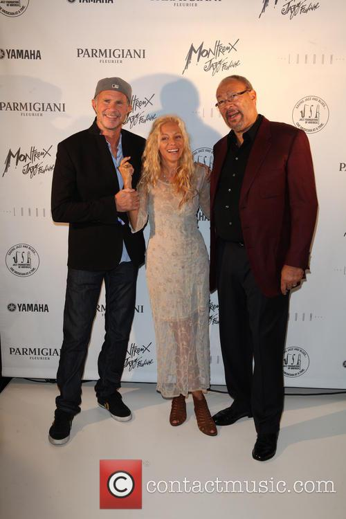Chad Smith, Wendy Oxenhorn and Richard Parsons 3