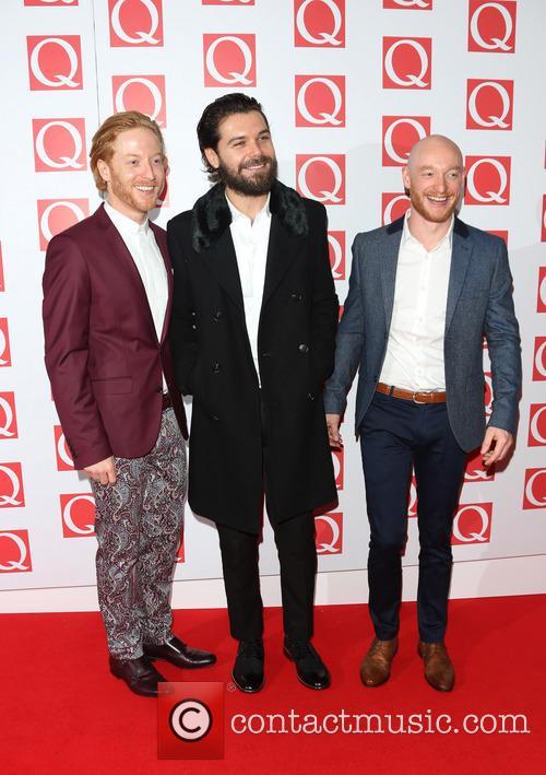Simon Neil, James Johnstone and Ben Johnston Of Biffy Clyro 2