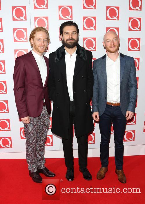 Simon Neil, James Johnstone and Ben Johnston Of Biffy Clyro 1