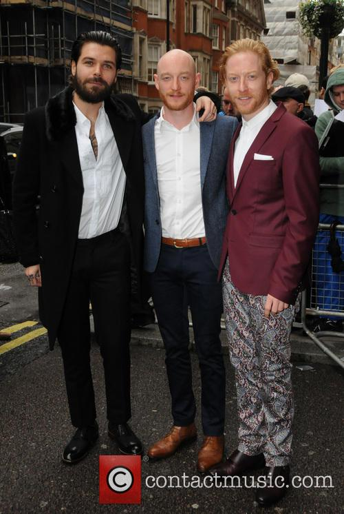 Simon Neil, James Johnstone, Ben Johnston and Biffy Clyro