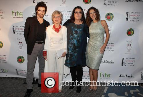 George Chakiris, Rita Moreno, Rosie O'donnell and Melina Kanakaredes