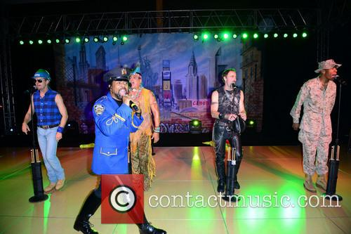 Bill Whitefield, Ray Simpson, Felipe Rose, Eric Anzalone, Alex Briley and Village People