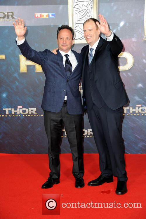 Louis D'esposito and Kevin Feige 2