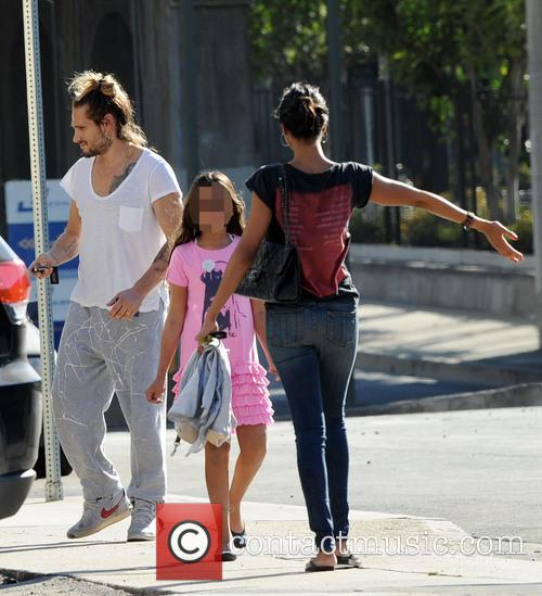 Zoe Saldana, Marco Perego and Guest 1