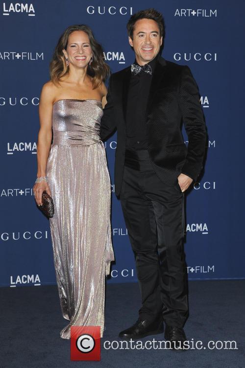 Susan Downey and Robert Downey Jr. 1