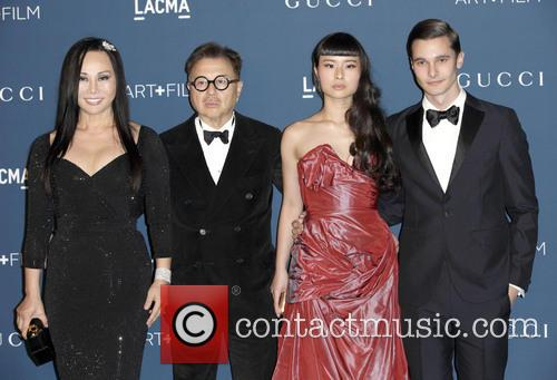 Michael Chow, Eva Chow, Asia Chow and Dorian Greenspan