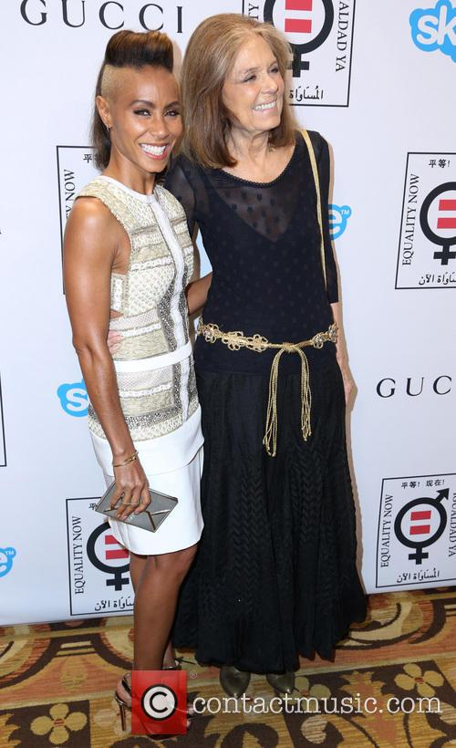 Jada Pinkett Smith and Gloria Steinem 7