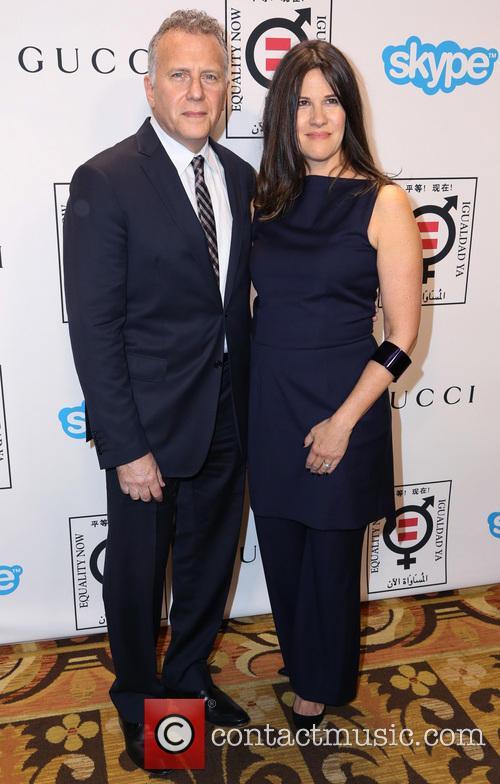 Paul Reiser and Paula Ravets