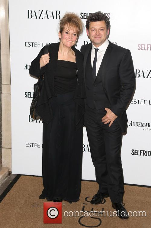 Andy Serkis and Lorraine Ashbourne 2