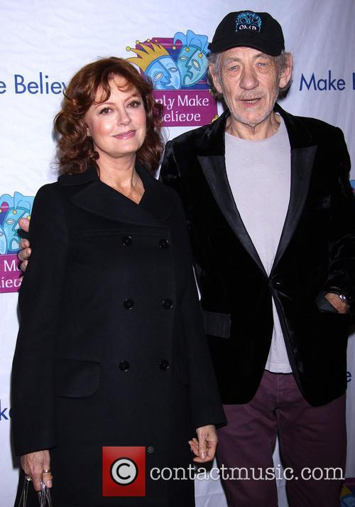 Susan Sarandon and Ian Mckellen