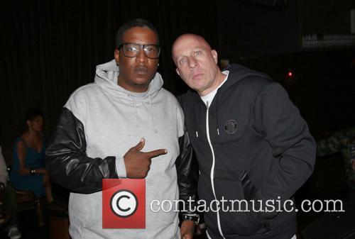 Tupac Shakur, Edidon and Steve Alder 1