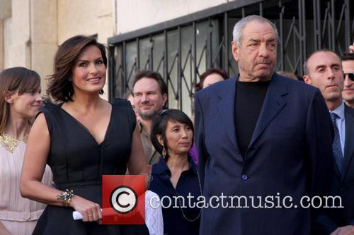 Mariska Hargitay and Dick Wolf 7