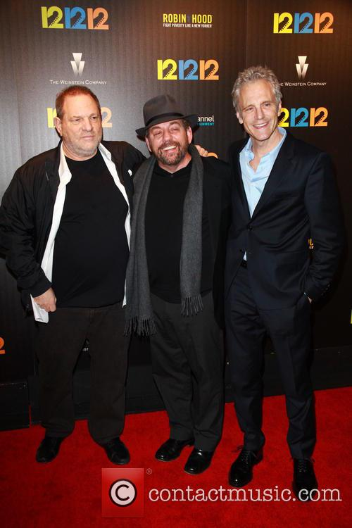 Harvey Weinstein, James Dolan and John Sykes