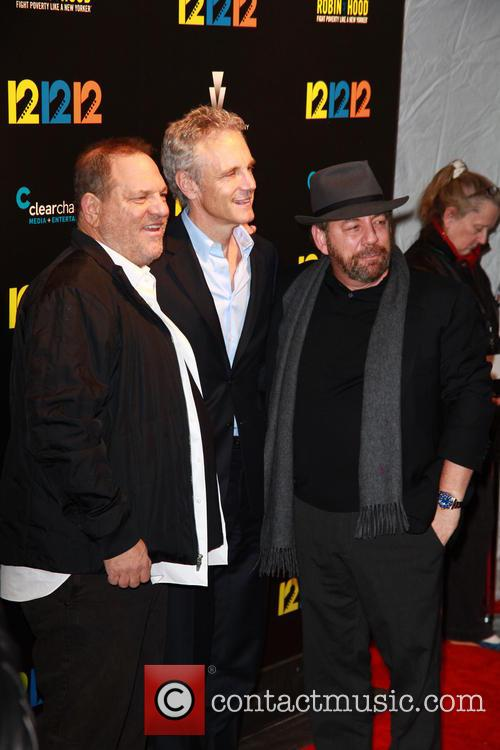 Harvey Weinstein, John Sykes and James Dolan 2
