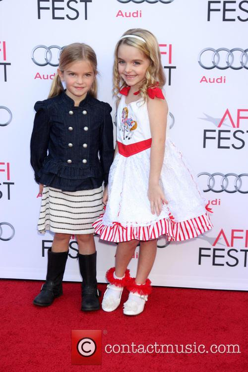 Mary Poppins, Mckenna Grace and Mia Talerico