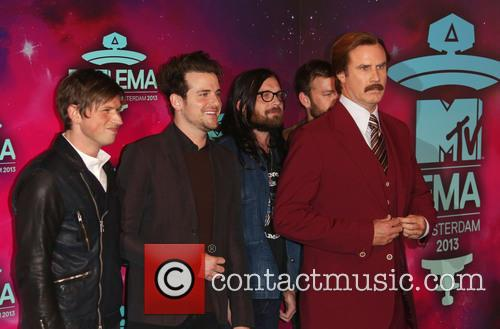 Kings Of Leon and Ron Burgundy 2