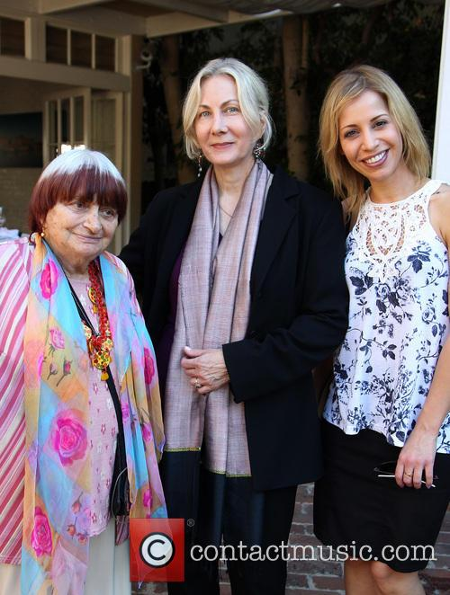 Agnes Varda, Shirley Moirin and Guest
