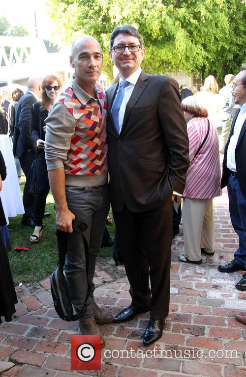 Jean-marc Barr and Consul General Of France M. Axel Cruau 3