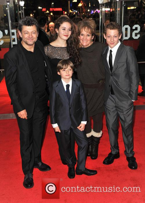 Andy Serkis and Family