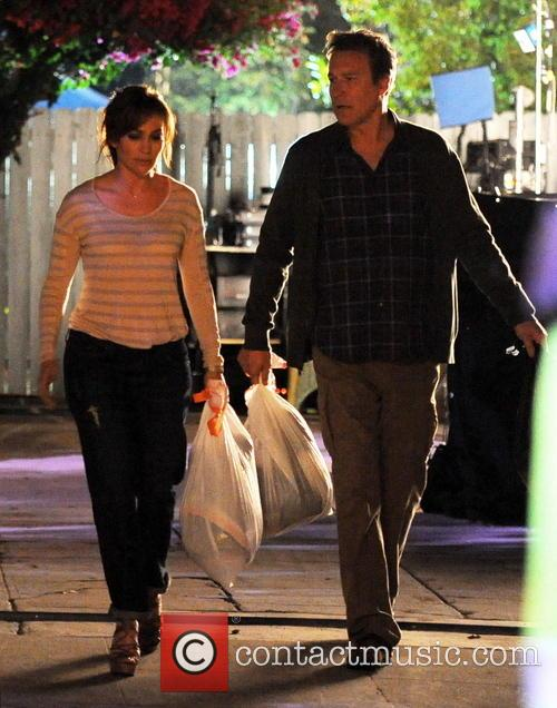 Jennifer Lopez and John Corbett