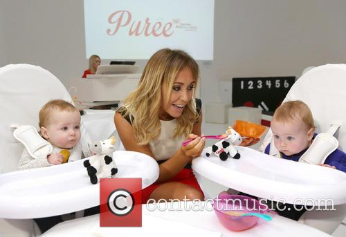 Jenny Frost, Blake and Nico 1