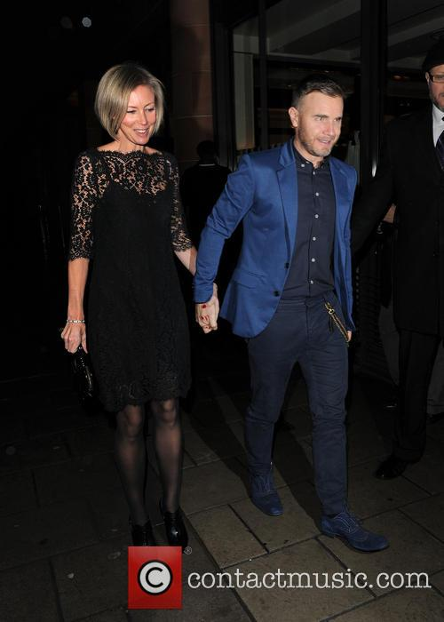 Gary Barlow and Dawn Andrews 4