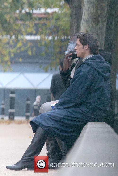 Nonso Anozie and Richard Madden