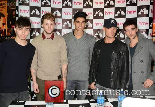 The Wanted - Nathan Sykes, Jay Mcguiness, Siva Kaneswaran, Max George and Tom Parker