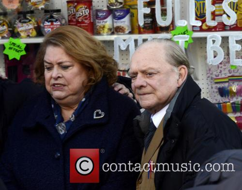 Lynda Barron and David Jason