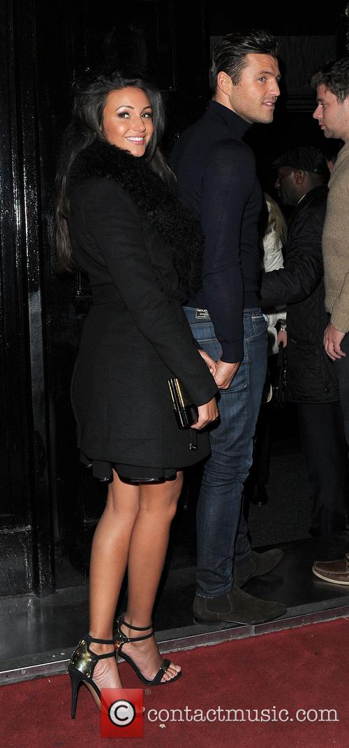 Michelle Keegan and Mark Wright 2