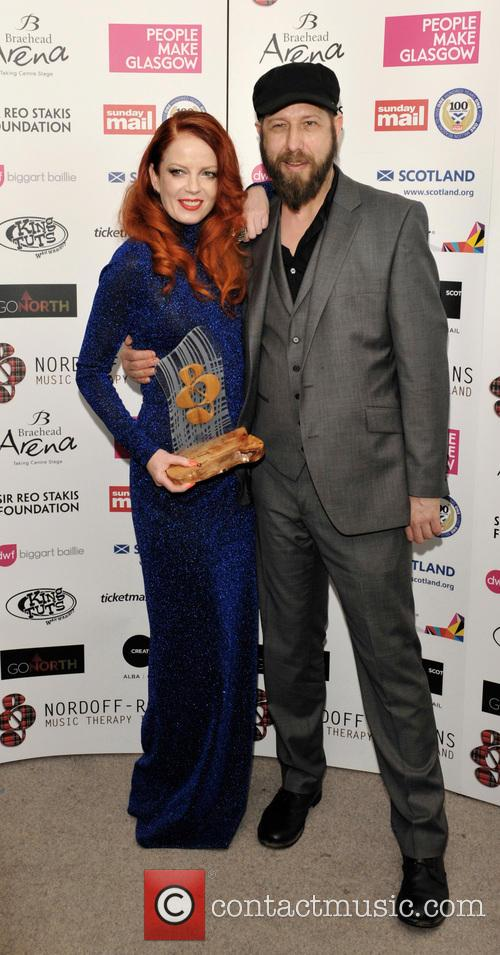 Shirley Manson and Martin Metcalfe 3