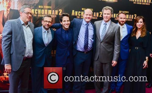 Will Ferrell, Steve Carell, Paul Rudd, David Koechner, Adam Mckay, Kirsten Wiig and Josh Lawson