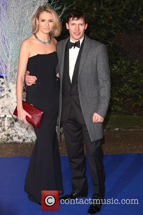 James Blunt and Girlfriend Sofia Wellesley