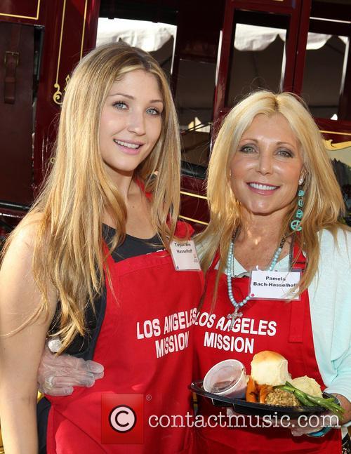 Taylor-ann Hasselhoff and Pamela Bach 2