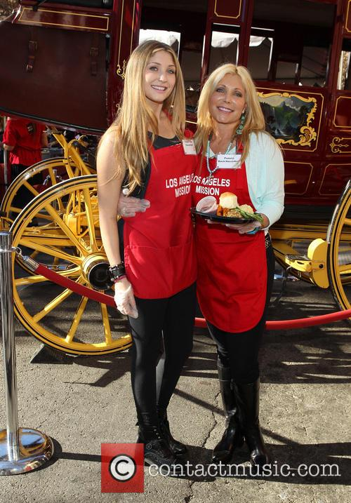 Taylor-ann Hasselhoff and Pamela Bach 1
