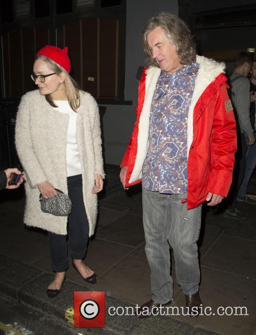 James May and Sarah Frater