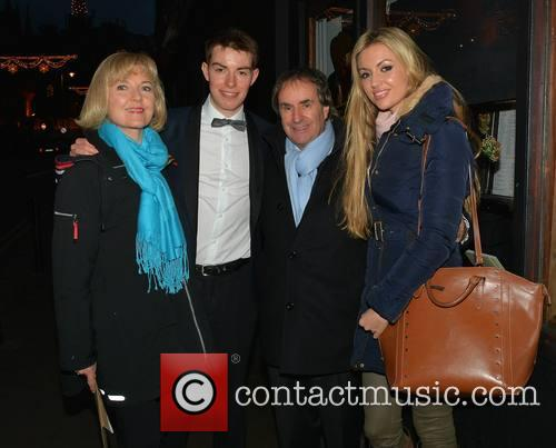 Chris De Burgh, Michael Davison, Diane Davison and Rosanna Davison