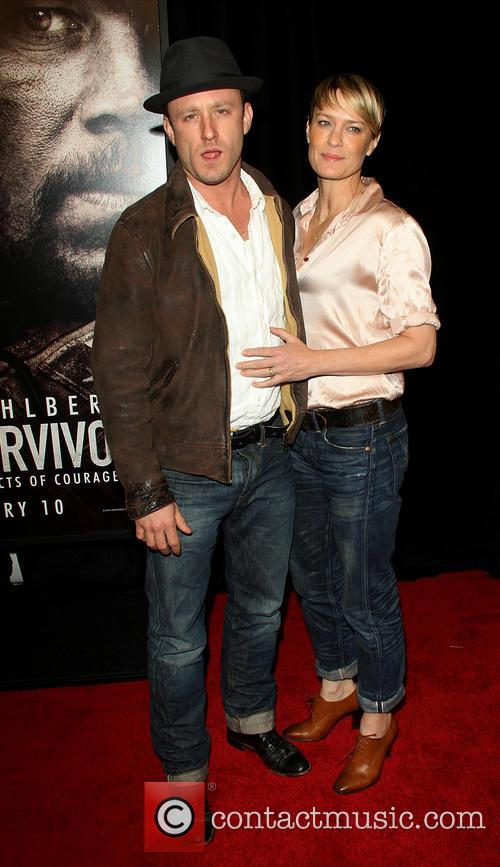 Ben Foster and Robin Wright 1