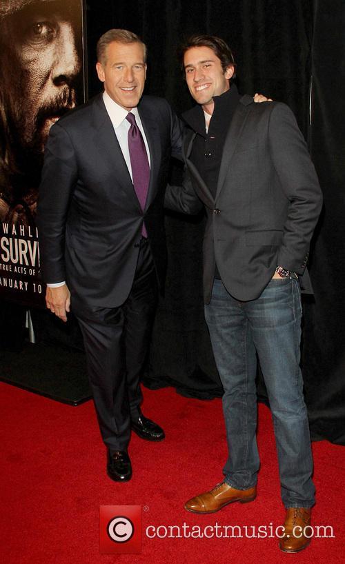 Brian Williams and Doug Williams