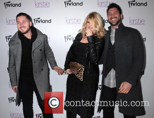 Kirstie Alley, Maksim and Val Chmerkovskiy