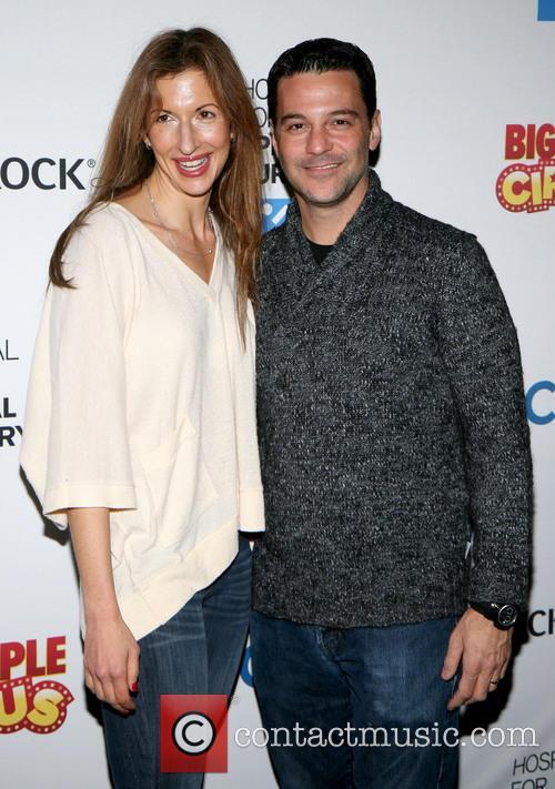Alysia Reiner and David Alan Basche 6