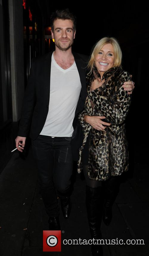 Michelle Collins and Mike Davison